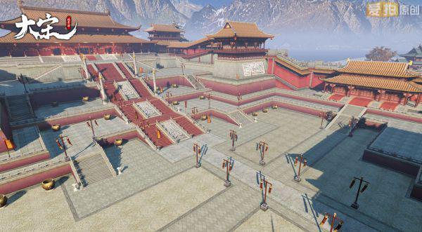 《大宋》皇宫建筑气宇轩昂,尽显王者之风图片
